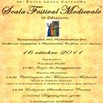Il Matrimonio Medievale 2011