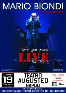 Mario Biondi - I love you more live