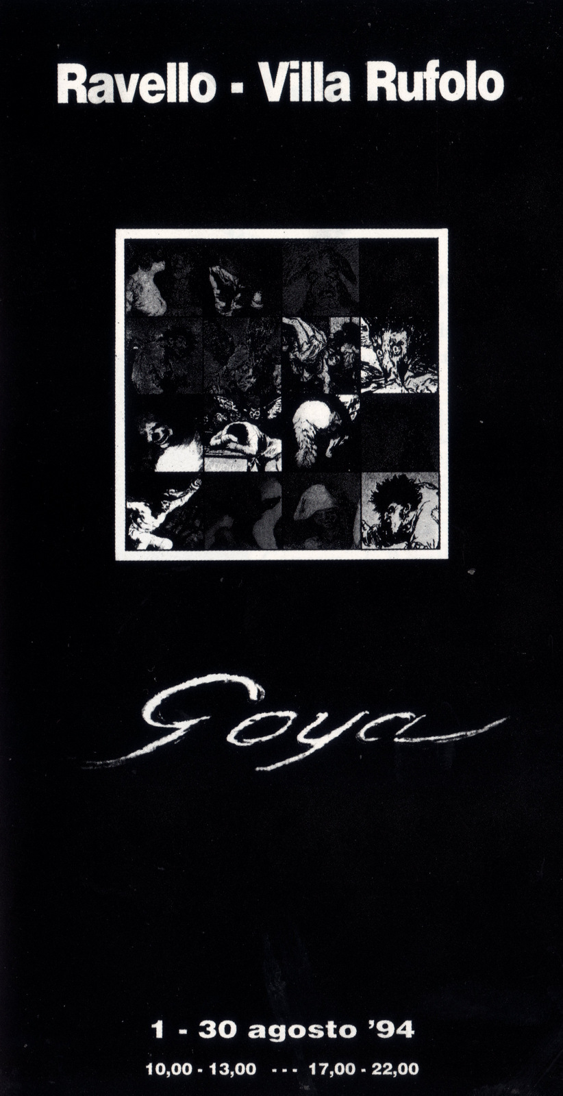 Mostra Goya, 1994