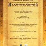 Il Matrimonio Medievale 2010
