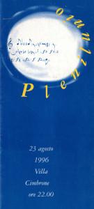 Plenilunio, 1996