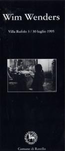 Mostra Wim Wenders, 1995