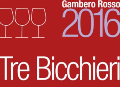 Tre Bicchieri 2016